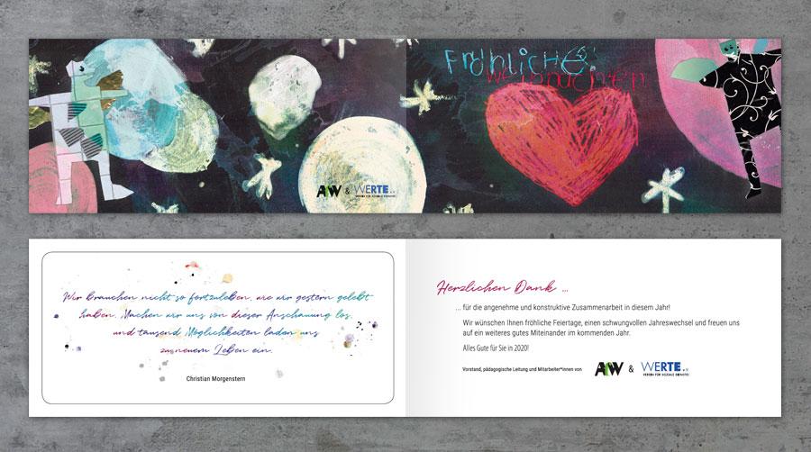 AfW Hannover, Weihnachtskarte