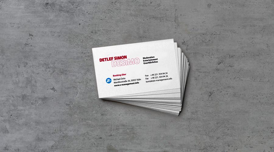 DESiMO Visitenkarten