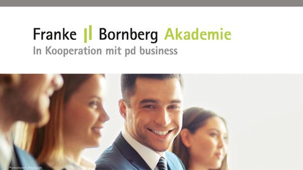 Visuelles Erscheinungsbild Franke Bornberg Akademie