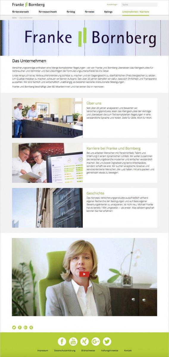 Webdesign Franke Bornberg – das Unternehmen