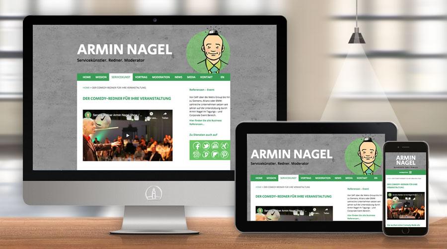 Armin Nagel, Webdesign