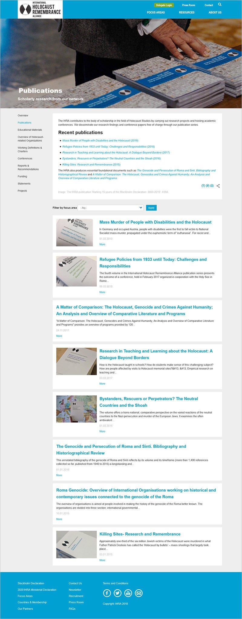 IHRA Publications