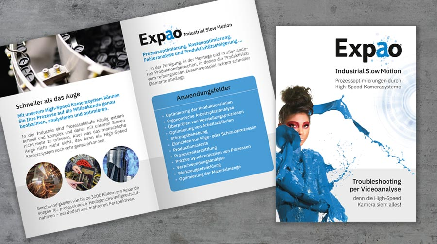 Flyer - EXPAO Industrial Slow Motion