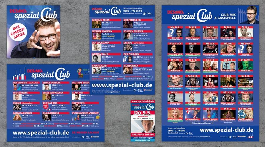 spezial Club Anzeigen