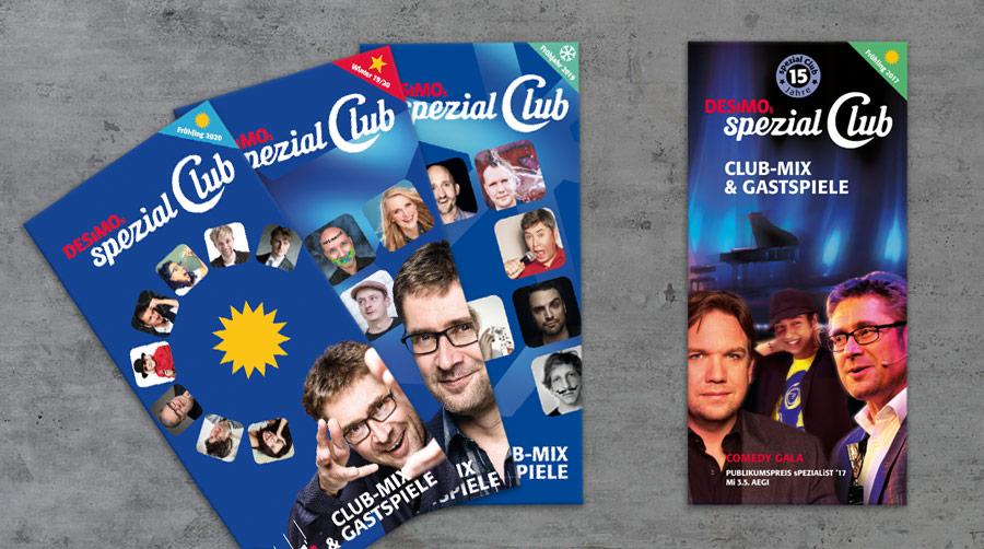 spezial Club Flyer