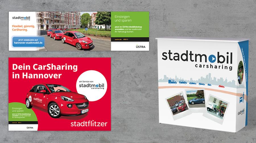 Stadtmobil Carsharing, Druckgrafik