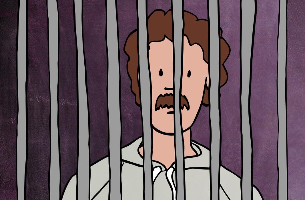 Illustration sexuelle Gewalt Violetta Hannover Gefängnis