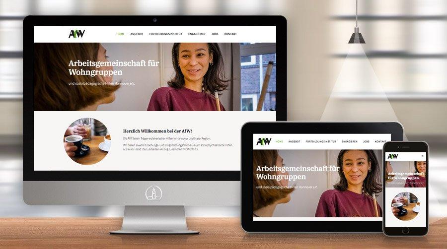 AfW - Arbeitsgemeinschaft für Wohngruppen und sozialpädagogische Hilfen Hannover e.V.