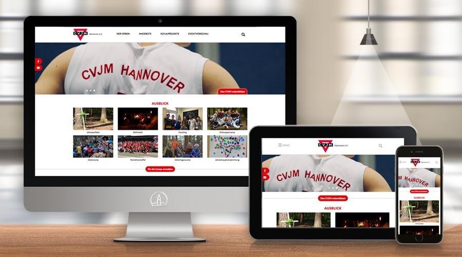 Website CVJM Hannover