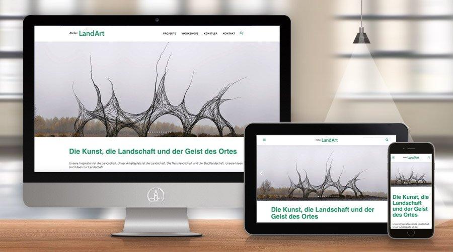 website Atelier LandArt