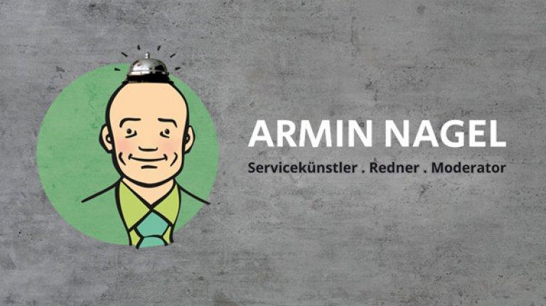 Armin Nagel, Servicekünstler